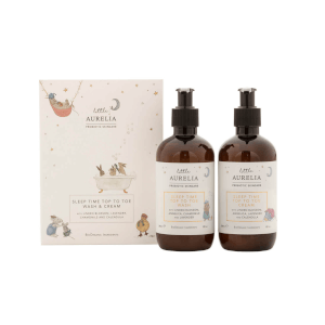 Little Aurelia Sleep Time Top to Toe Wash and Cream Duo 240ml