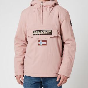 Napapijri Men's Rainforest Winter 2 Hooded Anorak Jacket - Woodrose Pink