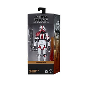 Hasbro Star Wars The Black Series Figurine Incinerator Trooper The Mandalorian Collectible - 15 cm