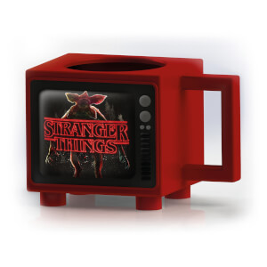 Stranger Things Retro TV Heat Changing Mug