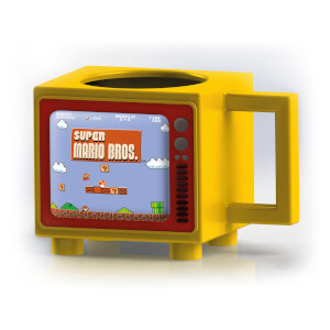 Nintendo Super Mario Retro TV Heat Changing Mug