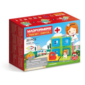 Magformers Town Set - Hospital