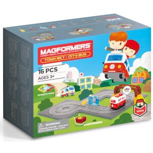 Magformers Town Set - City Bus