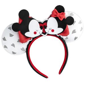 Loungefly Disney Mickey and Minnie Mouse Love Headband