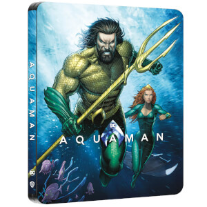 Aquaman - Steelbook Exclusivo de Zavvi Ultra HD (Incluye 2D Blu-ray)