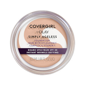 COVERGIRL Simply Ageless Instant Wrinkle Defying Foundation - Creamy Beige