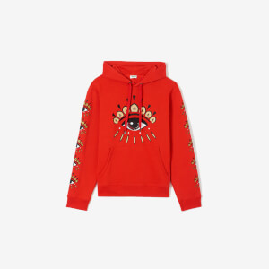 KENZO Men's Eye Icon Hoodie - Vermillion
