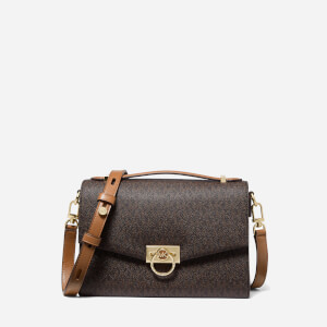 Michael Michael Kors Women's Hendrix Medium Messenger Bag - Brown/Acorn