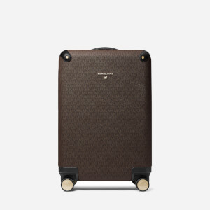 Michael Michael Kors Women's Travel Small Hardcase Trolley - Brown/Black