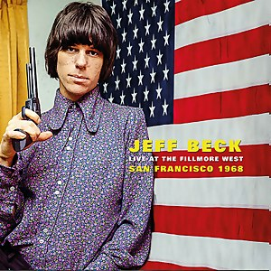 Jeff Beck - Live At The Fillmore West. San Francisco 1968 LP