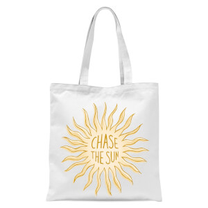 Chase The Sun Tote Bag - White