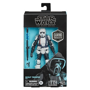 "Hasbro Star Wars Black Series Gaming Greats Shock Scout Trooper 6"" Scale Action Figure"