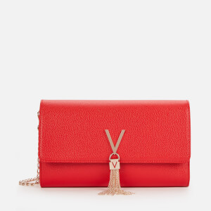 Valentino by Mario Valentino Women's Divina Large Shoulder Bag - Red