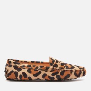 Tod's Women's Gommini Mocassins - Leopard