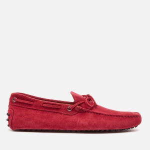 Tod's Men's New Gommini 122 Loafers - Red