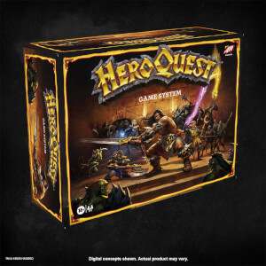 HeroQuest Board Game by Haslab, Hasbro