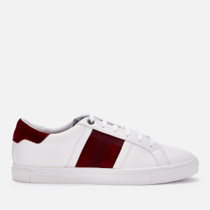 Ted Baker Men's Tenpal Branded Sneakers - DK Red