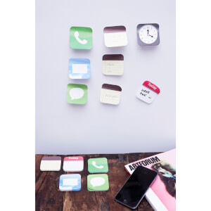 Phone App Sticky Notes Set