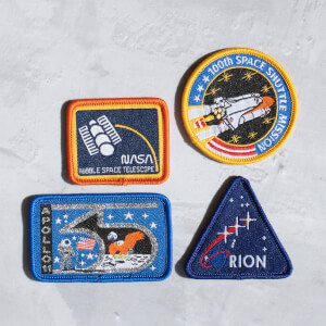NASA Iron-On Patch Set