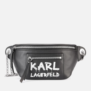 Karl Lagerfeld Women's K/Soho Graffiti Bumbag - Black/White