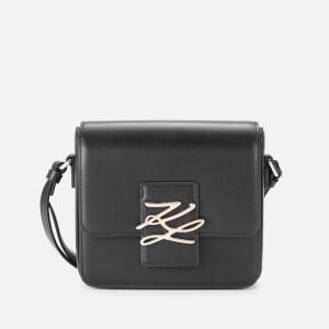 Karl Lagerfeld Women's K/Autograph Small Cross Body Bag - Black