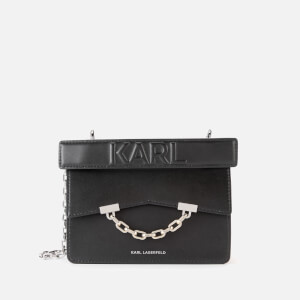 Karl Lagerfeld Women's K/Karl Seven Mini Shoulder Bag - Black