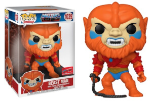 NYCC 2020 Masters of the Univers Beast Man 10-Inch EXC Pop! Vinyl Figure