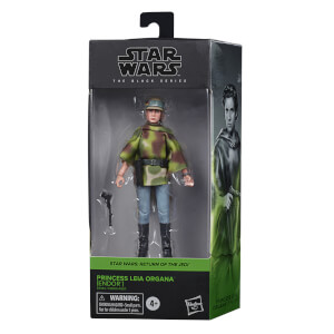 Figurine Hasbro Star Wars The Black Series Princesse Leia Organa (Endor)