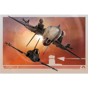 Top Gun Giclee Print By Angel Trancon Studio