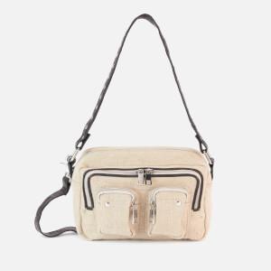 Núnoo Women's Ellie Beach Cross Body Bag - Beige