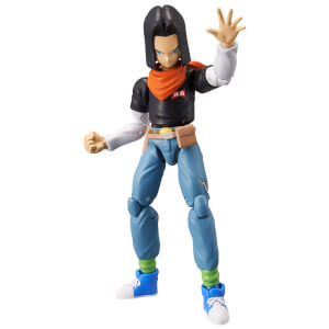 Bandai Dragon Stars DBZ Android 17 Action Figure