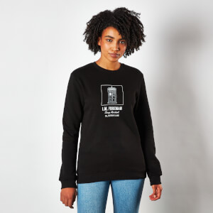 Sweatshirt Unisexe Doctor Who Tardis Interiors - Noir
