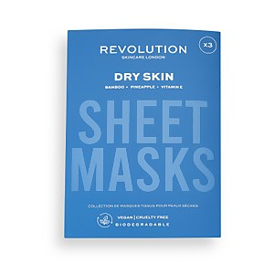 Revolution Skincare Biodegradable Dry Skin Sheet Mask