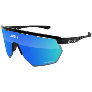 Scicon Aerowing Road Sunglasses - Black Gloss