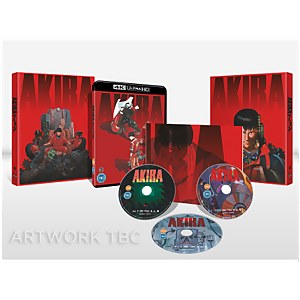AKIRA - Limited Edition 4K Ultra HD (Includes 2D Blu-ray)