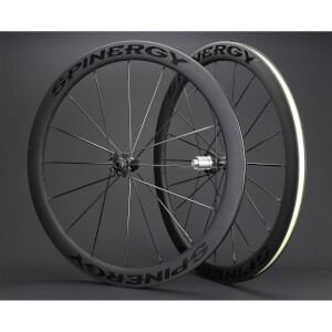 Spinergy Stealth FCC 4.7 Carbon Clincher Disc Wheelset