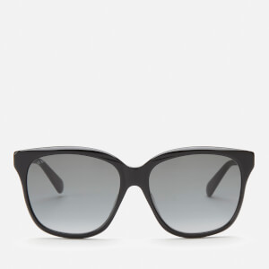 Gucci Women's Classic Acetate Sunglasses - Black/Grey