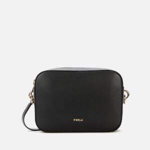 Furla Women's Block Mini Cross Body Bag - Black