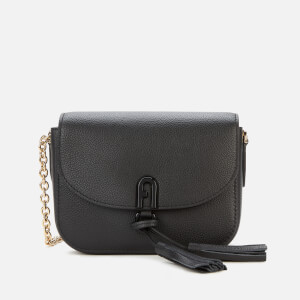 Furla Women's Tassel Mini Cross Body Bag - Black