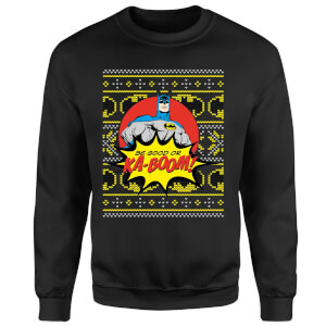 Batman Be Good Or Ka Boom! Sweatshirt - Black