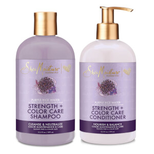 SheaMoisture Shampoo and Conditioner Coloured Care Strenghtening Duo