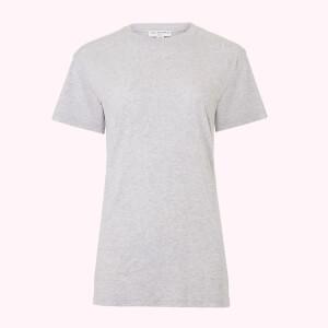 リップ プリント Macie Tシャツ グレー