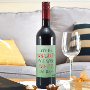 WotNot Creations 'Let's Be Naughty' Wine