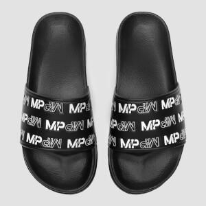 女士拖鞋 - 黑 / 白
