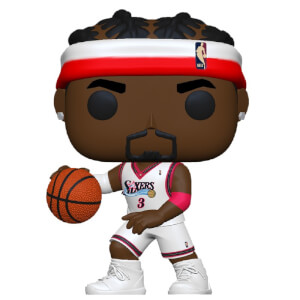 NBA Legends Allen Iverson (Sixers Home) Pop! Vinyl Figure