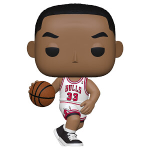 NBA Legends Scottie Pippen (Bulls Home) Pop! Vinyl Figure