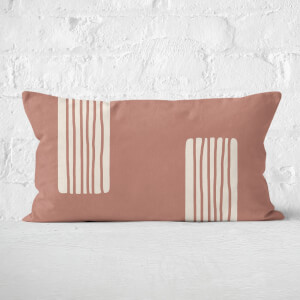 Yasmin Fatollahy Lines Within Lines Rectangular Cushion