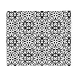 in homeware x Charlotte Greedy Tiled Fleece Blanket