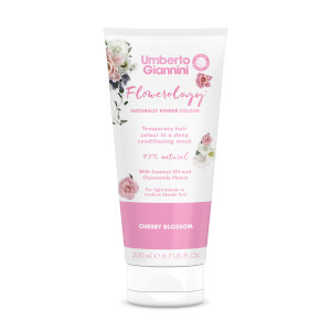 Umberto Giannini Flowerology Colour Mask - Cherry Blossom 195ml
