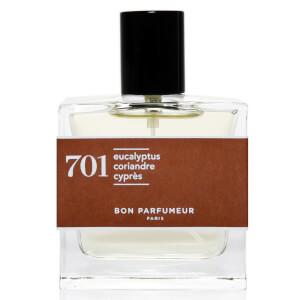 Bon Parfumeur 701 Eucalyptus Coriander Cypress Eau de Parfum (Various Sizes)